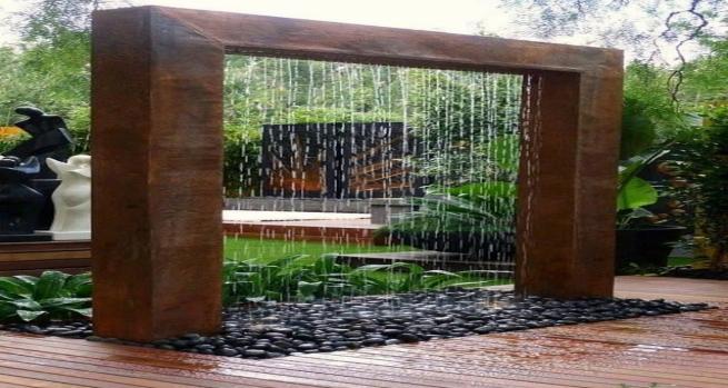 FUENTE DE AGUA PARA JARDN Alto Lago Privada Residencial