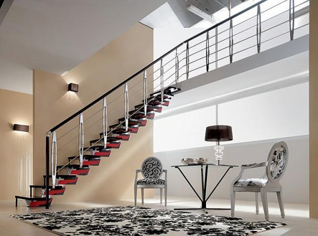 Modelos de escaleras para interiores alto lago privada for Escaleras para interiores