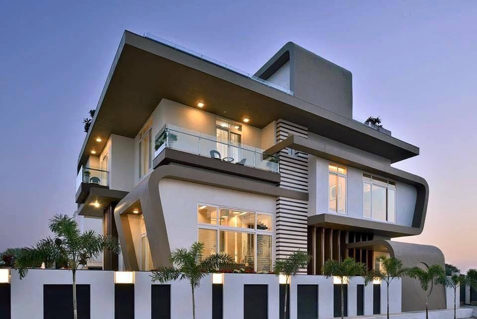 Arquitectura De Casas Los Exteriores De Las Viviendas Alto Lago - Arquitectura-de-casas