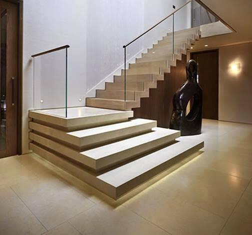 Dise os de escaleras formas y estilos alto lago privada for Formas de escaleras