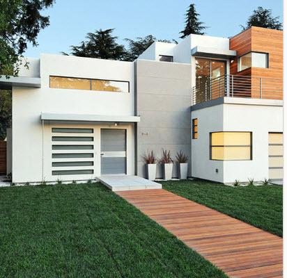 Dise o arquitect nico para fachadas de casas residenciales for Disenos de frentes de casas modernas