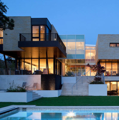 Dise o arquitect nico para fachadas de casas residenciales - Disenos para casas modernas ...
