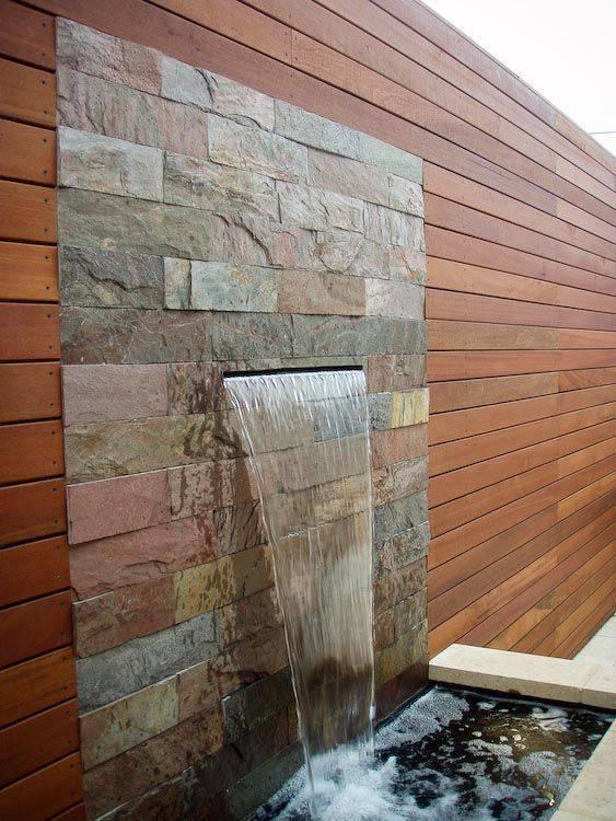 Fuente de agua para jard n alto lago privada residencial - Fuentes para patios ...