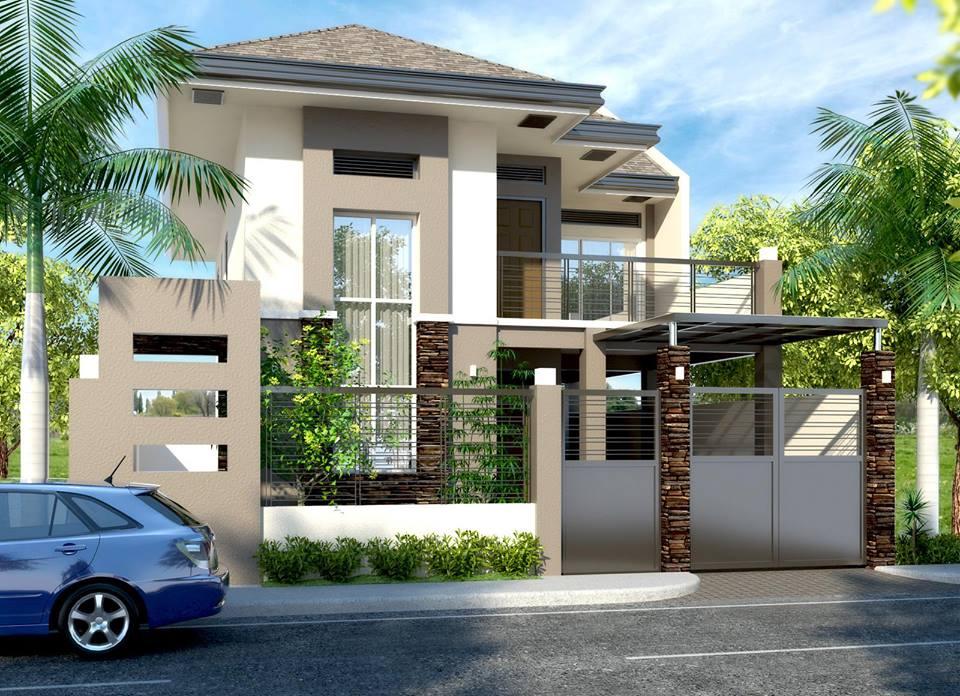 Ideas para fachadas de casas alto lago privada residencial for Disenos para frentes de casas