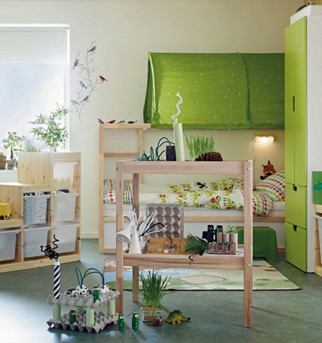 Nuevas tendencias en muebles para ni os alto lago - Organizar habitacion ninos ...